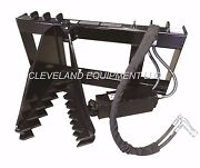 New Hd Tree And Post Puller Attachment Skid Steer Loader Ripper Takeuchi Terex Asv