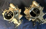 Two Premium Rebuilt 1962 Corvair Carburetors. 50 For Your Old Ones. Free Ship