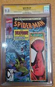 Marvel Spiderman 11 Signed Stan Lee And Todd Mcfarlane And Herb Trimpe Cgc 9.8 Rare