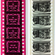 35mm Film - Nitrate Film - The Meanest Man On Earth - 1909 - Hepwix Release