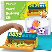 Educational Stem Word Building With Stories And Puzzles   4-10 Yrs, Plugo Letters