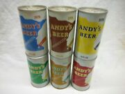Andys 1978 6 S/s Beer Cansaugust Schell Brg.,new Ulm,minn