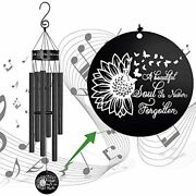 Memorial Wind Chimes For Loss Of Loved One Outside Deep Tone30sympathy Gifts L