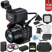 Canon Xc15 4k Professional Camcorder Bundle +1 Year Extended Warranty +d + Spare