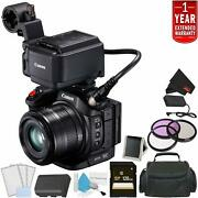 Canon Xc15 4k Professional Camcorder Bundle With 1 Year Extended Warranty +