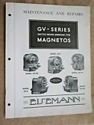 1930and039s Eisemann Gv Series Magneto Maintenance Service And Parts List Manual