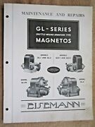 1930and039s Eisemann Gl Series Magneto Maintenance Service And Parts List Manual