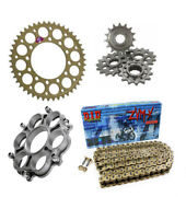 Ducati 1098 2007 2008 2009 Renthal Did Race Chain Sprocket Kit With Carrier