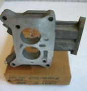 Ford Nos E1tz-9a589-a Carb Carburetor Spacer Plate/ Without Gaskets.