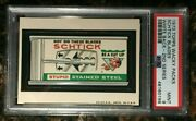 1973 Topps Wacky Packages Schtick Blades 2nd Series White Back Psa 9 Mint Card