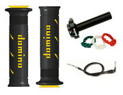 Kawasaki Ninja 400 18 -19 Domino Xm2 Quick Action Throttle Black / Yellow Grips
