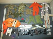 Vintage Lot Gi Joe Action Figures Clothing And Accessories