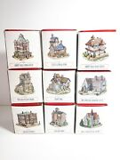 Lot Of 9 Liberty Falls The Americana Collection With Original Boxes One Chipped