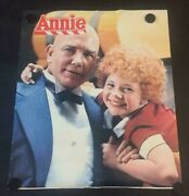 Rare Vintage Annie Promo Poster Aileen Quinn Albert Finney Proctor And Gamble