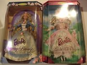 Lot Of 2 Sleeping Beauty Barbie 1997 And Little Bo Peep Barbie Collector Edition