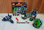 Lego Marvel 6868 Hulk's Helicarrier Breakout With Instructions No Box