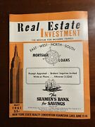 Real Estate Investment May 1961 Modern Trends New York City Nyc Magazine