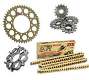 Ducati Superbike 996 94-12 Renthal Did Racing Chain And Sprocket Kit With Carrier
