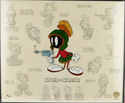 Marvin The Martian Limited Model Sheet Warner Bros. Cell Art Cell Looney Tunes