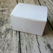 100x White Boxes Birthday Party Wedding Favor Handmade Soap Cake Candy Gift Box