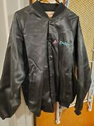 Vintage Gm Ac Delco Satin Hartwell Jacket - X Large