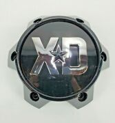 Xd Wheel Center Cap 1636s14 Gloss Black Chrome Lettering W/ Replacement Red Star