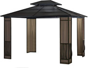 Expand Your Outdoor Living Space With A 10 X 12 Heavy Duty Galvanized Steel Hard