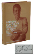 Les Halles Cookbook Signed By Anthony Bourdain First Edition 1st Print 2004