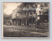 1890's Antique Downtown Street View Unpublished Photo / Sharpsburg Maryland