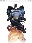 Dc Direct Dynamics Batman Statue 205 Low Number Not Xm Or Prime One Very Rare