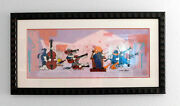 Quintet Chuck Jones Signed Limited Edition Cel Orchestra Art Cell Looney Tunes