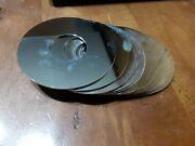 Lot Of 14 Scrap Hard Disk Platters For Platinum Recovery. 2.5 Inches