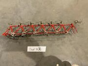 Scale 110 Diecast Red Tandem 6 Seat Bike Bicycle Model Replica Toy Collectibles