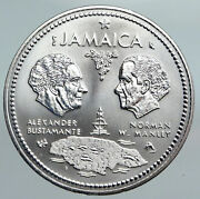 1972 Jamaica 10th Independence Anniversary Vintage Silver 10 Dollars Coin I90072