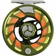 New Orvis Mirage Lt Iii Fly Reel In Olive For 5, 6 Or 7 Wt Rod - Free Us Ship