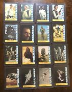 Very Rare 1977 Star Wars 20th Century Fox Trading Cards-complete Set Of 16 Cards