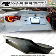 For 13-20 Subaru Brz / Scion Frs / Toyota Gt86 86 Rb V3 Style Rear Trunk Spoiler