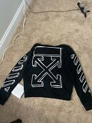 Off White Hoodie 2018 Marker.discontinued Winter Good Condition Medium.