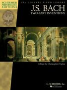 Js Bach Two-part Inventions Piano Solo Sheet Music Book New 000297091