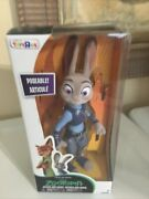 Disney Zootopia Officer Judy Hopps Figure Toys R Us Exclusive Flocked Misb 2016