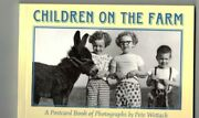 Children On The Farm Postcard Book Of Photographs By Pete Wettach30 Postcards