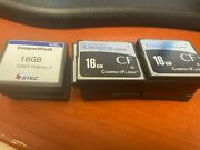 Lot Of 26 16gb Compact Flash Cf Cards Unigen And Stec