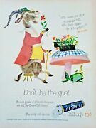 1954 Life Savers Dont Be The Smelly Goat With Old Proverb = Print Ad