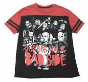 Dc Comics Suicide Squad Justice Has A Bad Side Harley Quinn T-shirt Size Medium