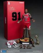 Used Enterbay 1/6 Figure Series Real Masterpiece Nba Collection Dennis Rodman