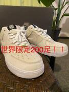 Used Air Force Medicom Bear Sneakers Mens 28.5cm World Only 200 Very Rare