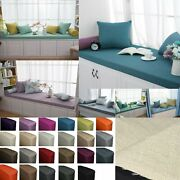 Qh04-tailor Madeday Bed Window Bench Chair Pad 3d Box Cushion Cover Pillow Case