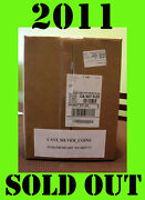 2 2011 25th Anniversary 5 Coin Set American Silver Eagle Unopened Sealed Box