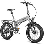Eahora X5plus 750w Electric Bike Fat Tires Folding Electric Bike For Adults With