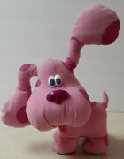Fisher Price Blues Clues 13 Magenta Girl Dog Plush Toy Talks And Barks Musical